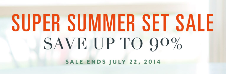 Super Summer Set Sale