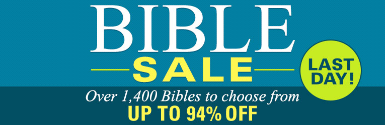 Bible Sale Up to 94% Off