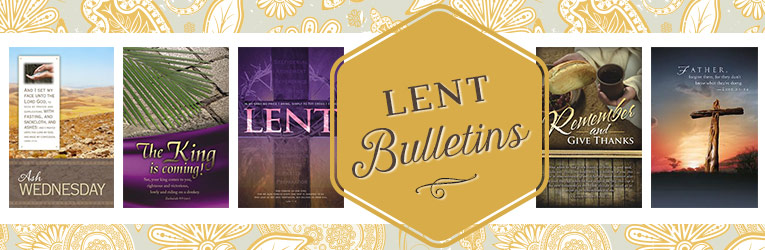 Lent Bulletins