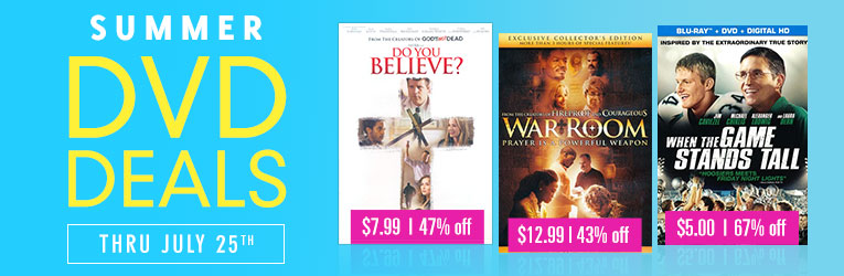DVD Sale thru 7/25