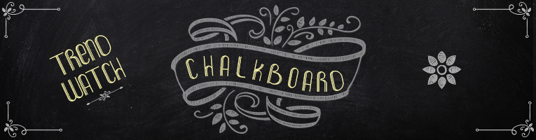 Trend Watch Chalkboard