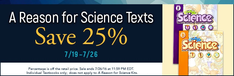A Reason for Science Sale