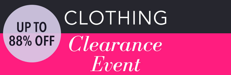 Clothing Clearance Event