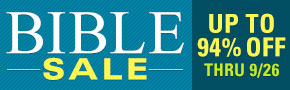 The Bible Sale- Ends Today!