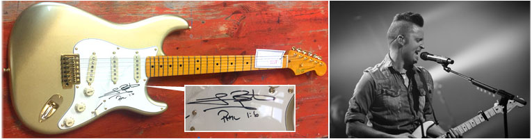 Lincoln Brewster Signed Guitar Giveaway