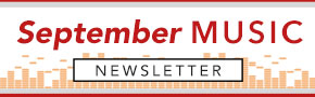 September Music Newsletter