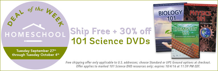 Science 101 DVDs