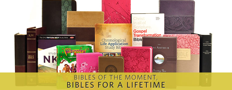 Bibles For the Moment -- Bibles For a Lifetime