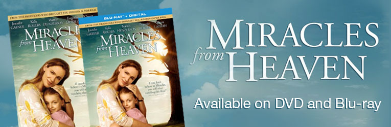 New - Miracles from Heaven DVD & Blu-ray