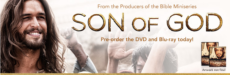 Son of God DVD & Blu-ray