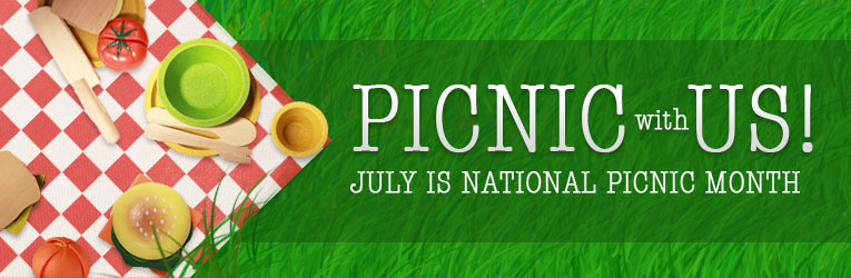 July is National Picnic Month: Shop Pretend Play Toys