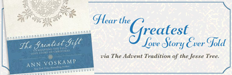 The Greatest Gift DVD: Unwrapping the Full Love Story of Christmas, by Ann VosKamp