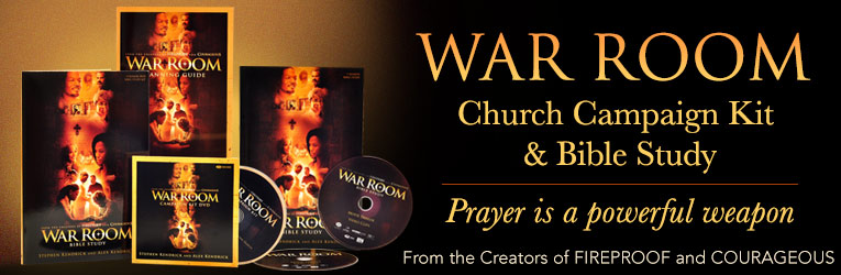 War Room, Church Campaign & Bible Study