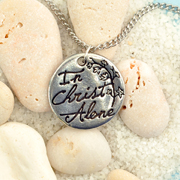 In Christ Alone Pendant