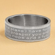 Scripture Rings for Him