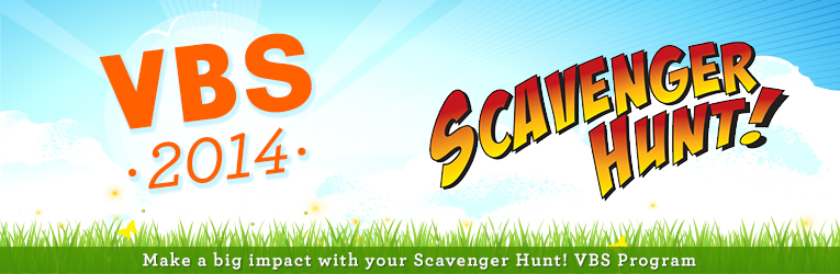 VBS Scavenger Hunt Easy Order Form