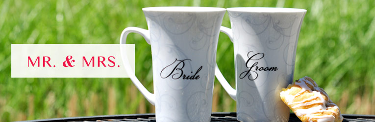 Bride & Groom Gift Mugs