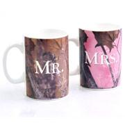 Mr & Mrs Mug...Camo Print