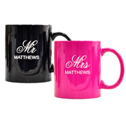Personalized Mugs: Mr & Mrs