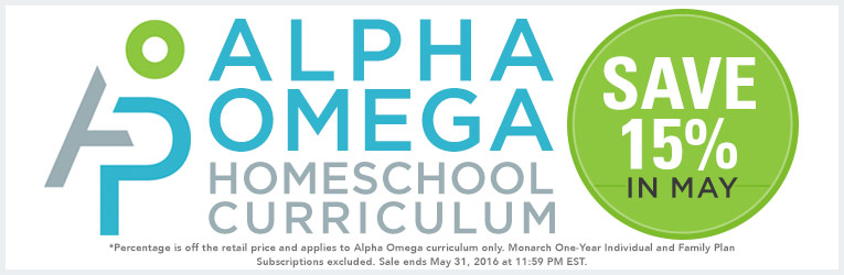 Alpha Omega May Sale