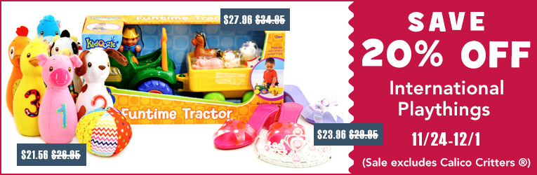 International Playthings Sale