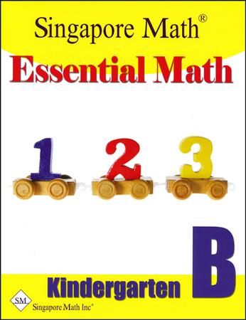 math worksheet : essential math kindergarten a 9781932906141  christianbook  : Singapore Math Kindergarten Worksheets