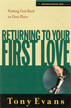 Returning to Your First Love: Putting God Back in First Place - eBook
