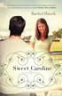 Sweet Caroline, Lowcountry Romance Series #1 -eBook