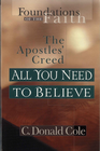 more information about All You Need to Believe: The Apostles' Creed - eBook