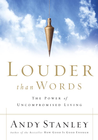 more information about Louder Than Words: The Power of Uncompromised Living - eBook