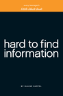 more information about Little Black Book of Hard to Find Information - eBook
