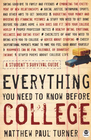 more information about Everything You Need to Know Before College: A Student's Survival Guide - eBook