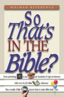 more information about So That's in the Bible? - eBook