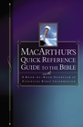 more information about MacArthur's Quick Reference Guide to the Bible - eBook