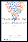 more information about Transforming Discipleship: Making Disciples a Few at a Time - eBook