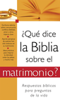 more information about ?Que dice la Biblia sobre el matrimonio?: What the Bible Says About Marriage - eBook