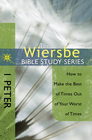 more information about The Wiersbe Bible Study Series: 1 Peter: How to Make the Best of Times Out of Your Worst of Times - eBook