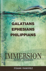 more information about Immersion Bible Studies: Galatians, Ephesian, Philippeans - eBook