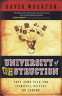 more information about University of Destruction: Your Game Plan for Spiritual Victory on Campus - eBook