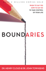 more information about Boundaries: When To Say Yes, How to Say No - eBook