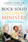 more information about Rock Solid Children's Ministry - eBook