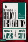 more information about Introduction to Biblical Hermeneutics: The Search for Meaning / Revised - eBook
