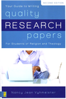 more information about Quality Research Papers: For Students of Religion and Theology / New edition - eBook