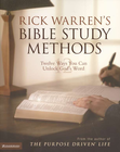 more information about Rick Warren's Bible Study Methods: Twelve Ways You Can Unlock God's Word - eBook