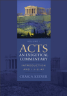 more information about Acts: An Exegetical Commentary : Volume 1: Introduction and 1:1-247 - eBook