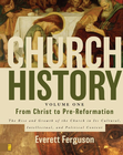 more information about Church History Volume One: From Christ to Pre-Reformation: The Rise and Growth of the Church in Its Cultural, Intellectual, and Political Context - eBook