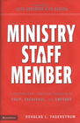 more information about The Ministry Staff Member: A Contemporary, Practical Handbook to Equip, Encourage, and Empower - eBook