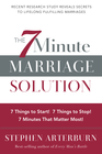 more information about 7-Minute Marriage Solution, The: 7 Things to Start! 7 Things to Stop! 7 Minutes That Matter Most! - eBook