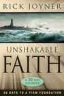 more information about Unshakable Faith: 50 Days to a Firm Foundation: A 50-Day Journey - eBook
