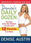 more information about Denise's Daily Dozen: The Easy, Every Day Program to Lose Up to 12 Pounds in 2 Weeks - eBook
